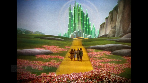 Wizard Oz Matte Painting