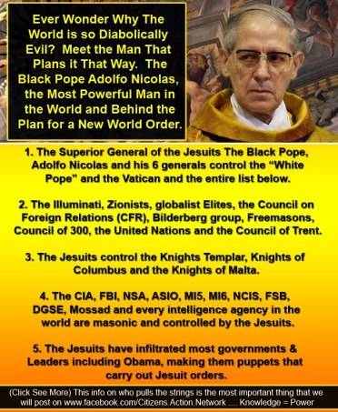 black pope jesuit