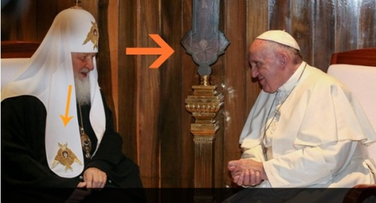 pope and russian