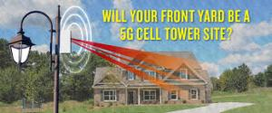 Super Intense Microwave Radiation Coming to a Utility Pole Right Next to You 5g-front-yard
